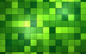 green squares pattern green color
