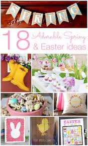 18 Adorable Spring and Easter Ideas