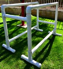 full size pvc parallel bars