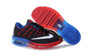 nike running shoes 2016 red. 2015 latest nike air max 2016 mens running shoes black red royal blue 806771 064