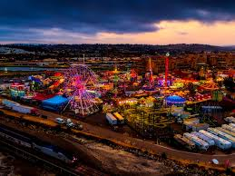 Christmas Lights At Del Mar Fairgrounds Its A Great Night For A Carnival Fridayfeeling Summer