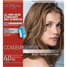 Light Almond Brown Hair Loreal Paris Couleur Experte Hair Color Light Brown Almond Rocca Walmart Com