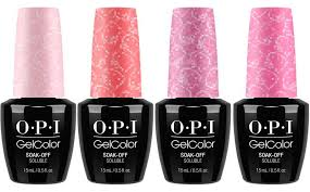 Opi Gel Color Chart 2016 Opi Hello Kitty Gelcolor 2016 Collection Beauty Trends And