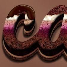 Cream And Chocolate Cake Photoshop Text Effect Psd Dudecom