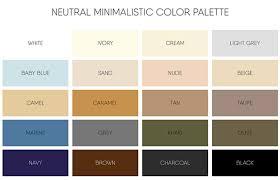 Grey color pallets