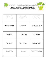addition addition equations worksheets solving equations using addition and subtraction worksheets davezan