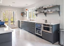 modern-kitchen-with-stainless-steel-shelves