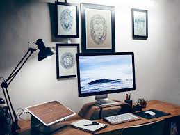 Furniture office workspace cool macbook air Macbook Pro Best Desk Setup Of 2017 Bonus Pinterest 10 Best Desk Setup Of 2017 Inspire Design