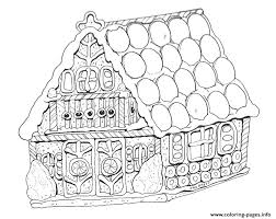 Gingerbread House Pictures To Color Dutchtalkinfo