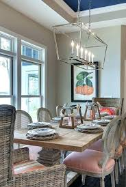 veranda linear chandelier linear chandelier lighting exciting dining room in round tables with crystal veranda round