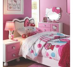 Great Hello Kitty Bedroom Set Hello Kitty 6 Pc Twin Bedroom Badcock ...