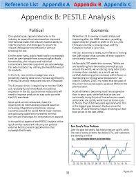 industry analysis template pest analysis template word pest analysis template 4 free word