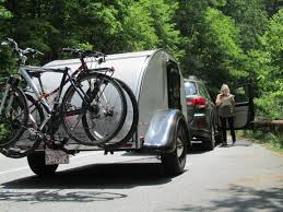 Bike Camper Trailer How To Easily Mount Lightweight Bicycle Rack On Any Vehicle Or Trailer