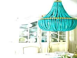 full size of turquoise beaded chandelier light fixture wooden blue wood navy lighting likable l canada