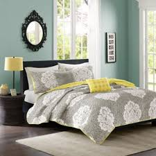 Buy California King Quilts from Bed Bath & Beyond & Intelligent Design Tanya King/California King Quilt Set in Grey Adamdwight.com