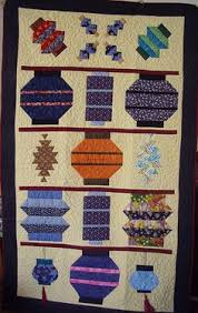 Japanese Lantern Quilt pattern. To make out of the old kimonos ... & Lantern quilt for Terri by _Jill_, via Flickr Adamdwight.com