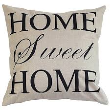 decorative pillows with words. Plain With Onker Cotton Linen Square Decorative Throw Pillow Case Cushion Cover 18 On Pillows With Words O