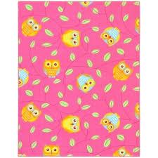 owl rug for nursery kids light pink aqua fun rugs crochet 5 gallery area