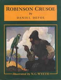 robinson crusoe by daniel defoe plainadventure com treasure   robinson crusoe cover art 1920 by n