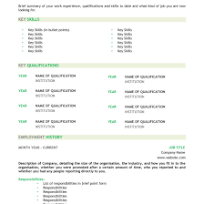 Australian Resume Template Word Inspiration Australian Resume Template Word Example 24 Cv With 10