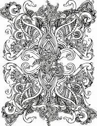 Moeilijke Kleurplaten Voor Volwassenen Bloemen Mandala Kleurplaat