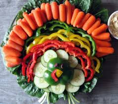 Decorative Relish Tray For Thanksgiving Turkey Vegetable Tray Fun Thanksgiving Veggie Tray Idea 13