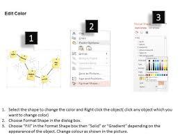 Business Framework Pert Chart Template Diagram Powerpoint