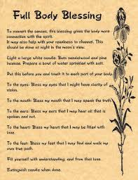 full body blessing book of shadows page bos pages real magic spells witch in collectibles ebay
