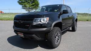 2017 Chevy Colorado ZR2 Crew Cab Turbo Diesel - At A Glance - YouTube