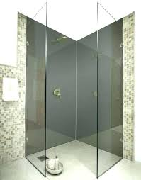 glass shower wall panels glass shower wall panels dark grey acrylic splash g colour panel glass glass shower wall panels