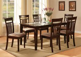 Kitchen Tables And Chairs A White Laminate Parsons Dining Table - Kitchen dining room table and chairs