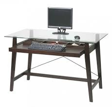 furniture charmingly computer desk with inexpensive price for your home office astonishing tempered glass top astonishing office desks