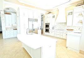 white cement countertop