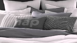 kenneth cole mineral metal bedding collection at bed bath beyond