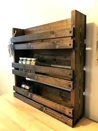 wood shelf for kitchen
