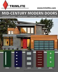 mid century modern front doorsMidCentury Modern Doors  Trimlite