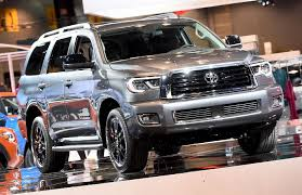 2018 toyota upcoming vehicles. unique 2018 2018 toyota sequoia trd sport front quarter right photo and toyota upcoming vehicles