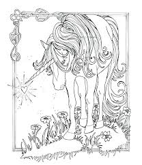 Unicorns Coloring Pages Free Unicorn Of For And Rainbows Rainbow