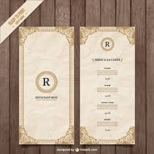blank menu template free download ornamental menu template vector free download