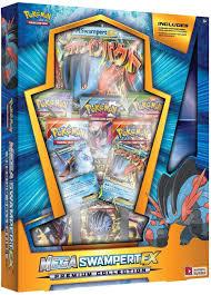 Amazon.com: Pokemon TCG: Mega Box-Swampert Ex lb Game, Blue: Toys & Games