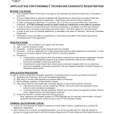 No Job History Resume Best of Resume For Pharmacy Technician Students Fresh Sample Template
