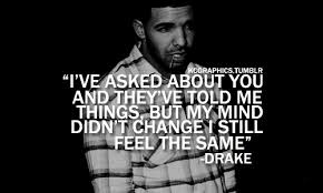 Drake Love Quotes Simple Drake Quotes About Being Hurt On QuotesTopics