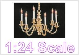 dollhouse lighting. 1:24 Scale Lighting Dollhouse C