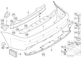 Realoem online bmw parts catalog rh realoem e46 sedan m3 bumper e46 front bumper
