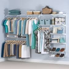 ... Closet Organizer Ideas For Small Closets : Inspiring Open Closet  Organizer Ideas With Wall Mounted Wired ...