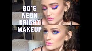 80 s themed makeup tutorial