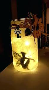 Lighting in a jar Pipe Fairy Optampro Adorable Fairy Jar Night Light Lights Diy Marquezrobledoco