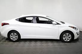 hyundai elantra 2016 white. Simple White 2016 Hyundai Elantra SE 4Dr Sedan In Knoxville TN  Parkside Kia With White
