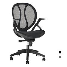 ergonomic mesh office desk chair with adjustable arms. langria mid-back mesh computer desk chair executive adjustable swivel office ergonomic design, with arms e