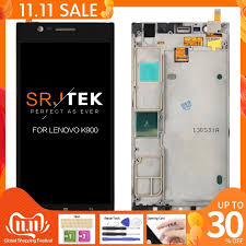 For Lenovo k900 Display Touch Screen ...